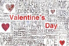 Valentijnskaartendag Stock Afbeelding