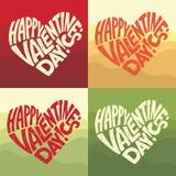 Valentijnskaartendag, 14 Februari Stock Fotografie