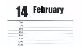 Valentijnskaartendag - Tijdtijdspanne stock footage