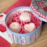 valentijnskaartengift Stock Afbeelding