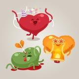Valentijnskaartenharten Royalty-vrije Stock Foto