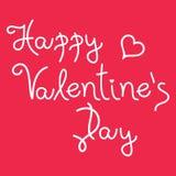 Valentijnskaartenkaart Royalty-vrije Stock Afbeelding
