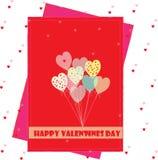 Valentijnskaartenwensen Royalty-vrije Stock Fotografie