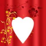 Valentim Fotografia de Stock Royalty Free