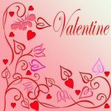 Valentim Imagens de Stock Royalty Free