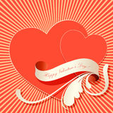 Valentim background2 Imagens de Stock Royalty Free