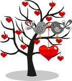 Valentim dia ou aniversário Imagens de Stock