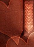 Valentim metálico Imagem de Stock Royalty Free