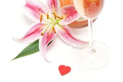 Valentim romântico imagem de stock