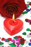 Valentim romântico fotografia de stock