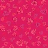 Valentim seamless-18 Imagem de Stock