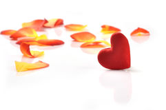 Valentin心脏 免版税库存照片