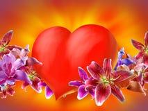 valentin καρδιών Στοκ Φωτογραφία