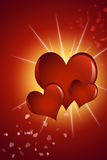 valentin дня s карточки Стоковое Фото