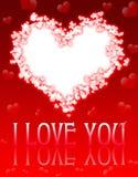 valentin дня s карточки Стоковая Фотография