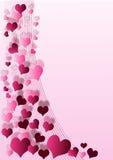 valentin предпосылки Стоковая Фотография