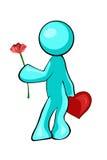 valentin royaltyfri illustrationer