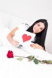 Valentin dag Arkivbild