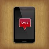 Valentin dag och förälskelsebegrepp Arkivbild
