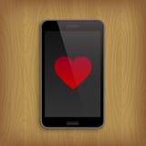 Valentin dag och förälskelsebegrepp Arkivfoton