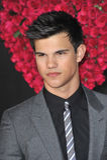 VALENTIN DAG, Taylor Lautner Arkivbild