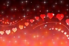 Valentin dagbakgrund Arkivfoton