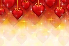 Valentin dagbakgrund Arkivbild