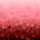 Valentin dagbakgrund Royaltyfri Fotografi