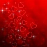 Valentin dagbakgrund Royaltyfria Bilder