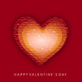 Valentin dagbakgrund. Royaltyfri Fotografi