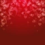 Valentin dagbakgrund, royaltyfri illustrationer