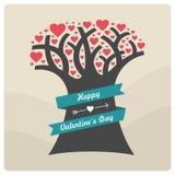 Valentin dagbeståndsdelar vektor illustrationer