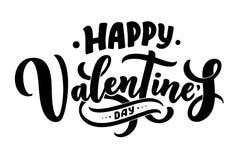 Valentin dagbokstäver för hälsningkortdesignen, romantisk illustration festlig garnering Svart inbjudankort för artikel med ensam vektor illustrationer