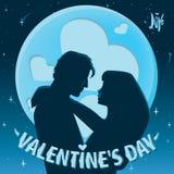 Valentin dagdatummärkning Royaltyfri Foto