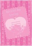 Valentin daghälsningar Arkivbilder