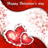 Valentin dagkort Royaltyfri Bild