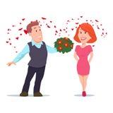 Valentin day5 royaltyfri illustrationer
