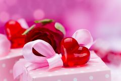 Valentin day background Stock Photo