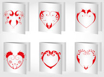 Valentin Day card Stock Photography