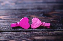 valentin Förälskelse valentin för dagvykort s Älska begreppet för dag för moder` s och dag för valentin` s Lyckliga hjärtor för d Royaltyfri Fotografi