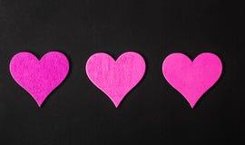 valentin Förälskelse valentin för dagvykort s Älska begreppet för dag för moder` s och dag för valentin` s Lyckliga hjärtor för d Royaltyfria Bilder