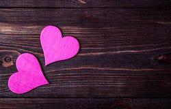 valentin Förälskelse valentin för dagvykort s Älska begreppet för dag för moder` s och dag för valentin` s Lyckliga hjärtor för d Royaltyfria Foton