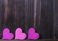 valentin Förälskelse valentin för dagvykort s Älska begreppet för dag för moder` s och dag för valentin` s Lyckliga hjärtor för d Arkivfoto