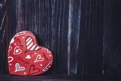 valentin Förälskelse valentin för dagvykort s Älska begreppet för dag för moder` s och dag för valentin` s Lyckliga hjärtor för d Fotografering för Bildbyråer