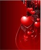 valentin för bakgrundsdag s royaltyfri illustrationer