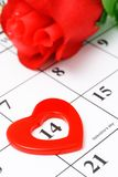 valentin för dag s Arkivfoto