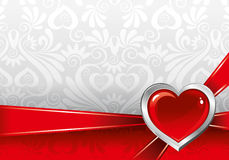 valentin för dag s för bakgrund härlig Royaltyfria Bilder