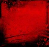 valentin för dagdesigngrunge Arkivfoto