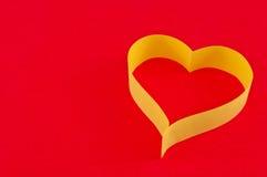 valentin för daghjärtapapper s Royaltyfria Foton