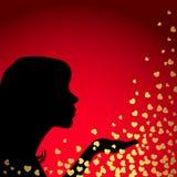 valentin för dagillustration s Fotografering för Bildbyråer